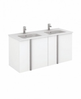 SONAS AVILA 120CM WALL HUNG VANITY UNIT WHITE GLOSS W1210MM X D460MM