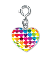 CHARM IT Heart to Heart Charm. (Priced in singles, order in multiples of 6)