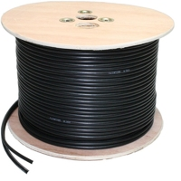 AVSL RG59 + 2 Core Power CCTV 100mtr Cable