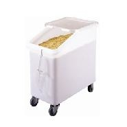 Ingredient Bin Slanted White 102 Litre Cambro