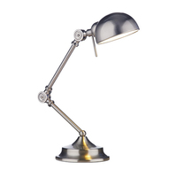 Ranger Table Lamp Satin Chrome