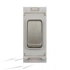 Schneider Ultimate Screwless Grid 2way Press Switch Module White|LV0701.1060