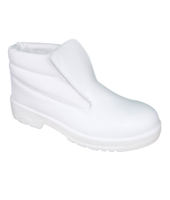 White Slip On Boot S2