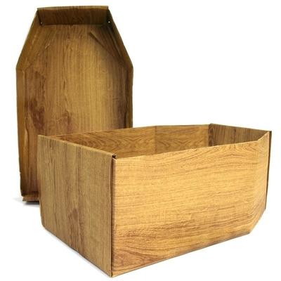 Burial Package Basic Brown Wood