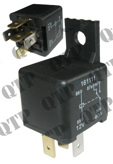 Relay 12v Normally Open 40A - Quality Tractor Parts LTD