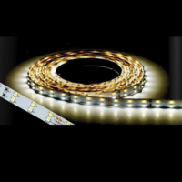 12V 4.8WATT/METER DC W/WHITE LED FLEXIBLE STRIP (PER METER)3200K