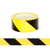 Aisle Hazard WarningTapeYel/Blk 50mmx33m