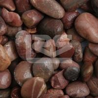 Premium Midi Red Polished Pebbles 15-30mm