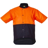 CT Oilskin Vest Hi Vis Day Only Short Sleeve