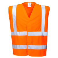 Portwest Bizflame Antistatic Vest Hi-Vis Orange