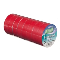 19mm x 20m Electrical PVC Red Tape