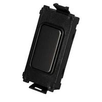 Schneider Ultimate Screwless Grid Black Nickel Module|LV0701.1205