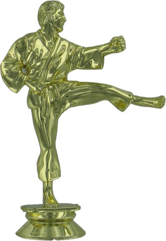 Karate (M) 120mm Plastic Figure