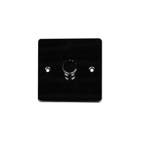 Flat Plate Black Nickel DIMMER  1g 2way| LV0701.0511