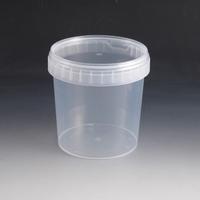 1200ml Plastic Tub & Lid.