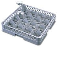Glass Rack 16 Compartment with No Extenders
