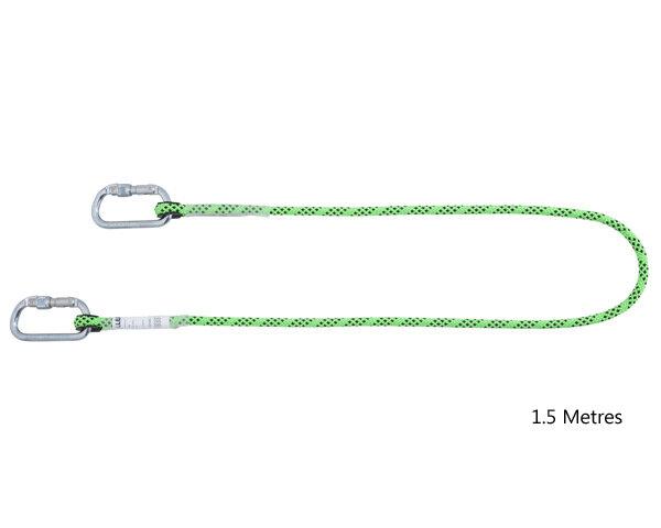MILLER Kernmantel Rope Restraint Lanyard 1.5m