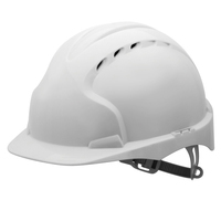 EVO3 Helmet Slip Ratchet - White - Vented
