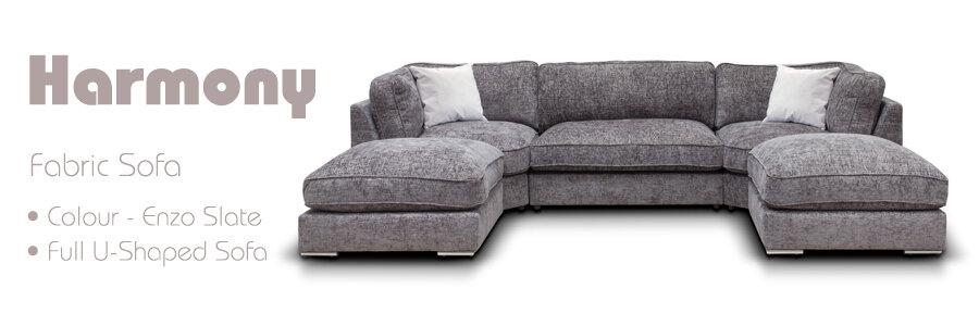 Harmony Fabric Sofa