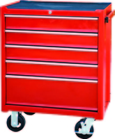 TOOLCHEST TBR3005-X CABINET 5x BALL BEARING SLIDING DRAWERS W/ CASTORS (688x435x885mm) 62kg (Ploughing Special Discount Price)