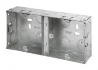FLUSH STEEL BOX DUAL 35mm