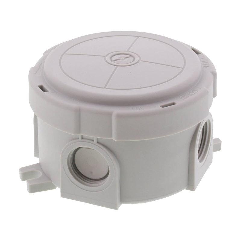 Wiska Combi 304 Round Junction Box Grey 10110635