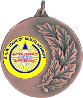 50mm Antique Bronze Medallion