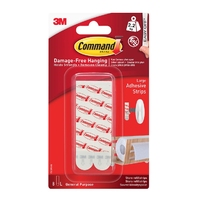 Command Large Mounting/Replacement Strips 8pk 17023P