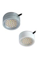 CAPTAIN 2W LED mains voltage cabine t light, IP20, 64mm, White, 3300K