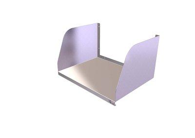 Microwave Shelf 600mm x 450mm Medium Duty
