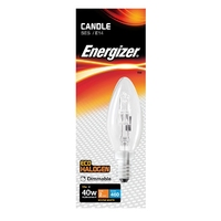 Eveready 28W(40W) Energy Saving C35 Halogen Candle SES