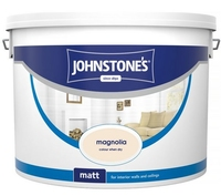 JOHNSTONES MATT EMULSION MAGNOLIA 10 LTR