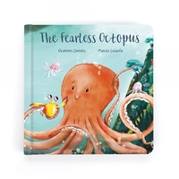 JellyCat The Fearless Octopus Book Cover Page