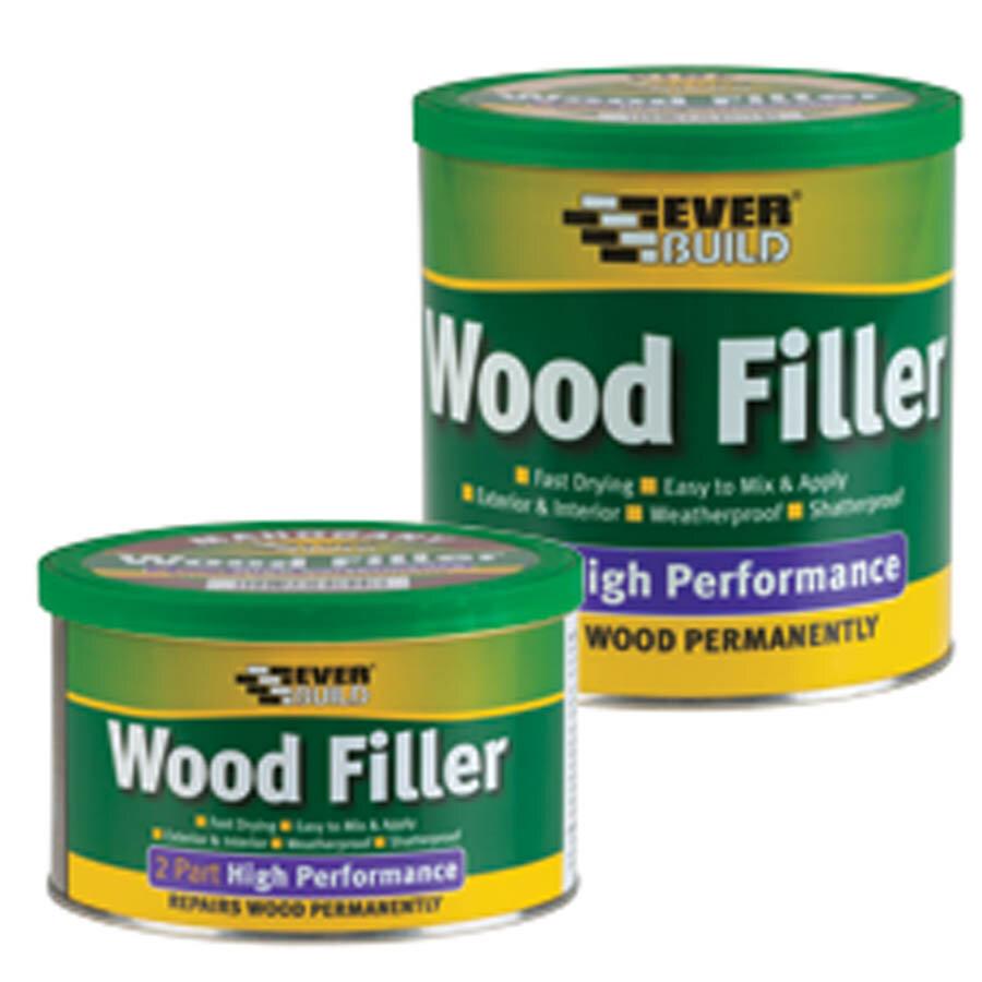 Everbuild 2 Part High Performance Wood Filler Redwood