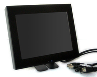 "Vigilant Vision 8"" Active Matrix Glass Fronted LED CCTV Monitor"