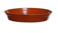WHITEFURZE SAUCER FOR 10'' POT TERRACOTTA