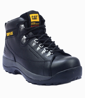 Caterpillar Hydraulic Black Rugged Work Boot