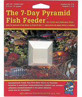 API 7-Day Pyramid Fish Feeder x 1