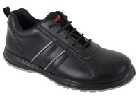 Blackrock Corona Black Laced Trainer - Shoe