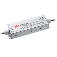 CEN-60-15 | ENCLOSED SWITCHING LED POWER SUPPLY PFC  15 VOLTS 4 AMPS 60 WATTS