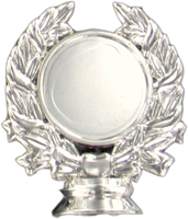 50mm Wreath Holder (Silver)