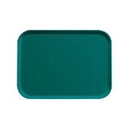 Fast Food Tray Green 355mm x 255mm