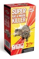 Doff Super Rat & Mouse Killer II 3 x 25g
