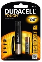 Duracell Tough Super Clear LED Keychain Torch