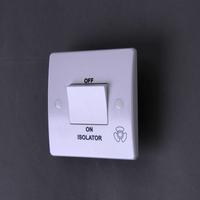 220-250V 50-60Hz  10A 3P fan isolator switch