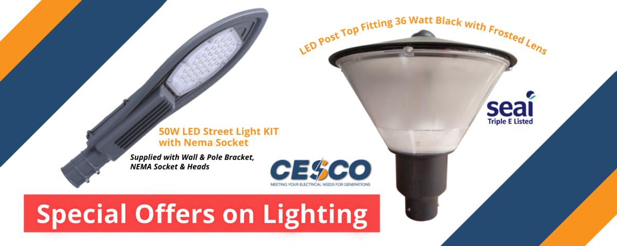 CESCO STREET LIGHTS
