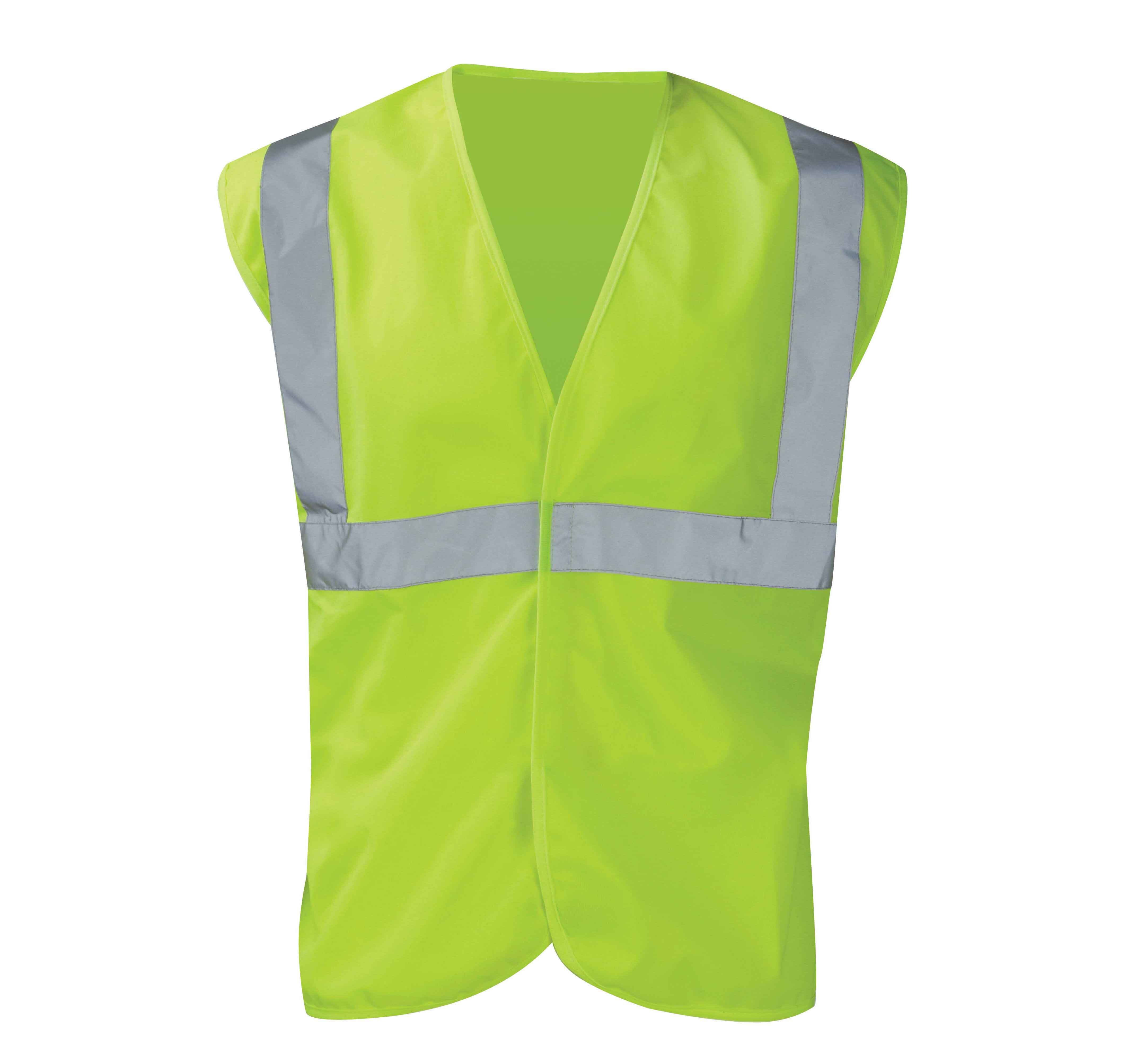 BOA Hi-Vis 1B2B Vest Yellow