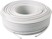 Satellite Cable RG6U-White 250mtr Drum