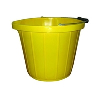 BB6 STADIUM YELLOW 3 GALLON BUCKET