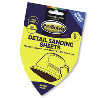 PVDSP80 PROSOLVE DETAIL SAND SH H&L 100X140MM 5PC
